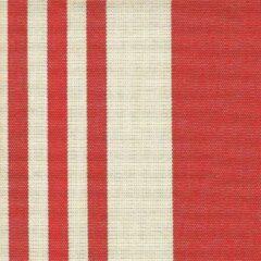 Beige Acrisol 7 Calles Rojo 37 creme rood stof per meter buitenstoffen, tuinkussens, palletkussens