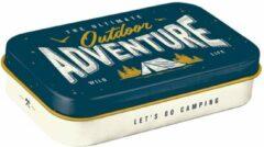 Nostalic art Pepermunt Blikje XL 'Outdoor Adventure'