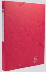 Rode Exacompta Elastobox Cartobox rug van 2,5 cm, rood, 5/10e kwaliteit