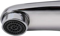 Zilveren VidaXL Wastafel mengkraan chroom