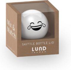 Witte Lund London - Skittle Drinkfles Dop Los Smiley