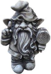 Gartenfigur Zwerg Steinoptik