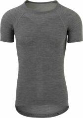 AGU Winterday Thermoshirt Korte Mouwen Essential Unisex Fietsshirt - Maat L - Zwart