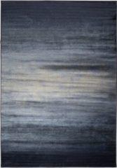 Blauwe Zuiver Obi Vloerkleed Viscose Blauw - 200 x 300 cm