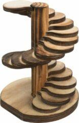 Trixie Houten Toren - Speelgoed - 10x12x9 cm Gevlamd