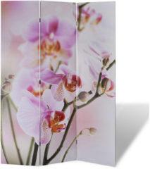 VidaXL Kamerverdeler inklapbaar bloem 120x170 cm