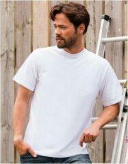 Logostar Wit grote maten t-shirt 3XL