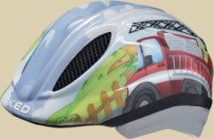 KED Meggy Trend Kinder Fahrradhelm Kopfumfang S/M 49-55 cm fire truck