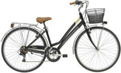 28 Zoll Damen City Fahrrad 6 Gang Adriatica Trend Adriatica schwarz