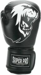 Super Pro Combat Gear Talent (Kick)Bokshandschoenen - Zwart/Wit