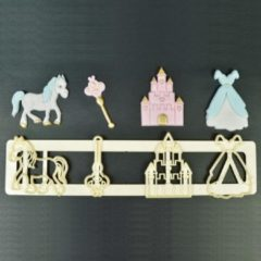 Creme witte FMM Fairytale Tappit Cutter