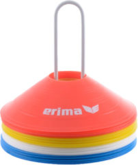 Erima Markeerschijvenset - blauw/wit/oranje/geel