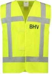 Gele Tricorp Veiligheidsvest RWS BHV - Workwear - 453006 - Fluor Geel - maat 4XL