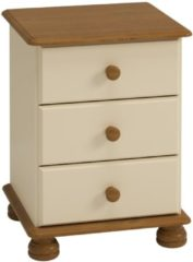 Creme witte DS Style Nachtkastje Rich B 58 cm hoog in creme