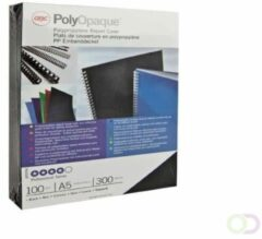 GBC omslagen PolyOpaque ft A4, pak van 100 stuks, 300 micron, wit