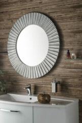 Sapho Pride zilver ronde spiegel 90cm