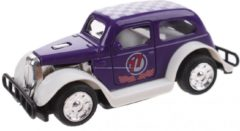 Toitoys Toi-toys Hot Rod Wagen Pull Back Diecast 9 Cm Paars