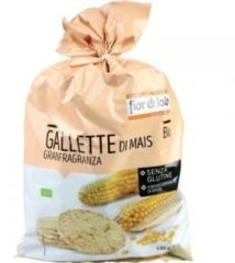 Il Fior di Loto Gallette di Mais Granfragranza Senza Glutine 130 gr