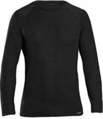 Zwarte GripGrab Merino Polyfibre Long Sleeve Base Layer Sportshirt Unisex - Maat XS