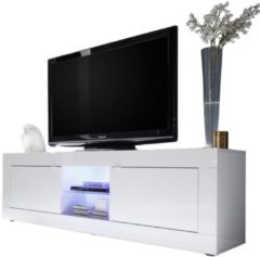 Pesaro Mobilia Tv-meubel Tonic 181 cm breed in hoogglans wit