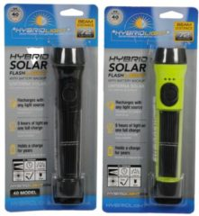 Massamarkt Torch 1LED dual power <br /> <br /> Solar oplaadbaar