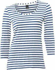 Blauwe Gestreept shirt