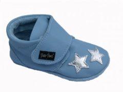 Blauwe Baby Paws babyslofjes Nova Baby Blauw maat 2 = ( 11,2 cm)