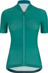 Santini - Women's Color S/S Jersey - Fietsshirt maat XL, turkoois