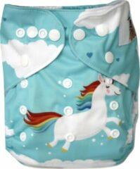 Blije Billetjes Wasbare Pocketluier Microvezel Rainbow Unicorn