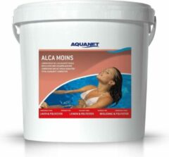 Aquanet Alcamin 8 kg verlaagt de TAc hardheid van zwembaden