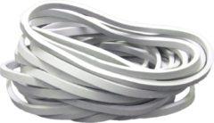 PasschierTerpo 10 stuks - Tent Elastiek –grijs - diameter 90mm - breedte 5mm