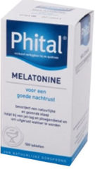 Phital Melatonine 0.1 mg 500 Tabletten