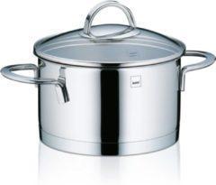 Zilveren Kookpan hoog 16 cm - RVS - Kela | Cailin