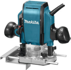 Blauwe Makita bovenfreesmachine - RP0900K - inclusief koffer