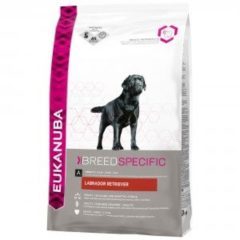 Eukanuba Dog Labrador Retriever - Rasspecifiek - Kip - Hondenvoer - 12 kg