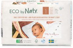 Naty luier go groen maat 1, 2-5 kilo, 25 stuks