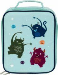 Little Lovely Koeltas Monsters Junior 6 Liter Polyester Blauw