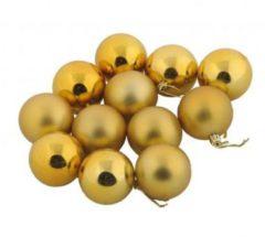 Goudkleurige Kerstballen - Goud - Box gold plastic