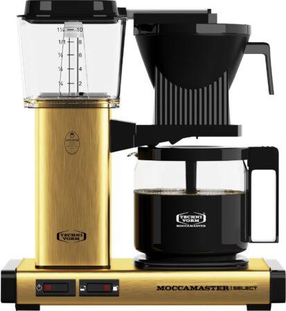 Afbeelding van Technivorm Filterkoffiemachine KBG Select, Brushed Brass - Moccamaster