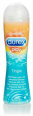 Transparante Durex Play Tingle glijmiddel - 50 ml