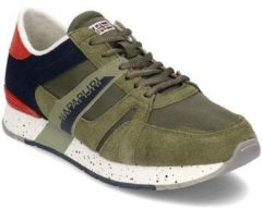 Napapijri - Heren Sneakers Rebut - Groen - Maat 45
