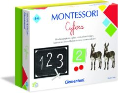 Clementoni - Cijfers Montessori - educatief spel, montessori speelgoed 4 jaar