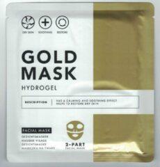 Gouden Merkloos / Sans marque Gold Mask 3x gezichtsmasker