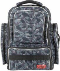 Grijze Berkley URBN Back Pack - Rugtas - Zwart