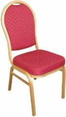 Rode Bolero Stapelbare banket stoel met ovalen rug (4 stuks)