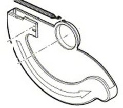 Skil Schutzabdeckung unten für Kreissäge 2610Z05775