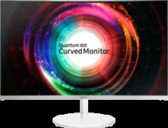 LED-monitor 81.3 cm (32 inch) Samsung C32H711Q Energielabel B 2560 x 1440 pix WQHD 4 ms HDMI, DisplayPort VA LED