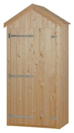 Afbeelding van Woodvision - Tuinkast Dahlia - Vuren - 100x215x58 cm