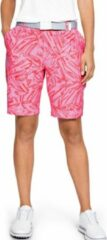 Under armour Links Printed Short Lipstick Roze Dames