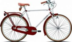 28 Zoll Legnano Vintage Herren Holland Fahrrad Singlespeed Legnano weiß-bordeaux